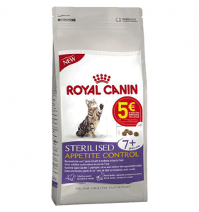 ROYAL CANIN Sterilised Appetite Control 7+ 3.5K