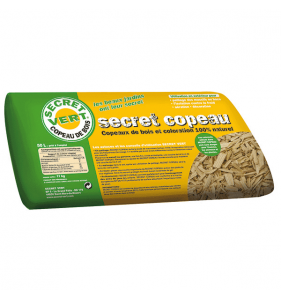 SECRET VERT Secret Copeau Naturel 50L