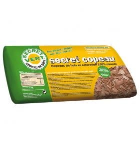 SECRET VERT Secret Copeaux Marron 50L