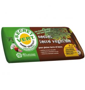 SECRET VERT Secret Terre Vegetale 40L