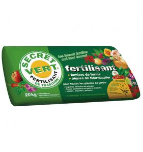 SECRET VERT Secret Vert Fertilisant 20Kg