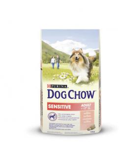 Purina Dog Chow Sensitive 14Kg Saumon