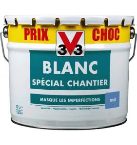 DISTRIFAQ Peinture Blanc Mp Bicouche 10L