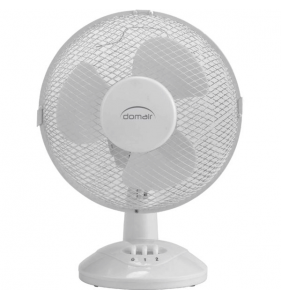 DISTRIFAQ Ventilateur de table 23cm Blanc