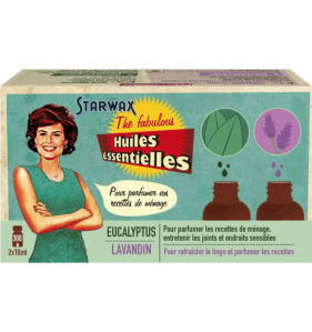 BRUNEL STARWAX SA Huile Essentielle 2X10 ml Eucalyptus
