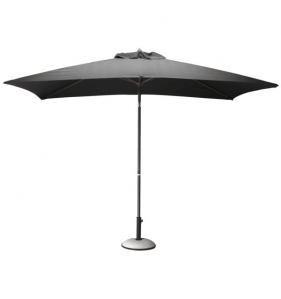 PRO LOISIRS Parasol Alu Inclinable Taupe