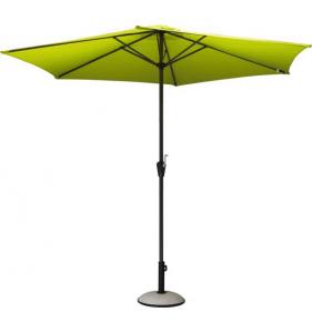 PRO LOISIRS Parasol Alu Acier Inclinable Paprik