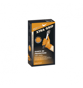 EPITECH Boîte 50 Gants Nitrile Xtra Grip T8