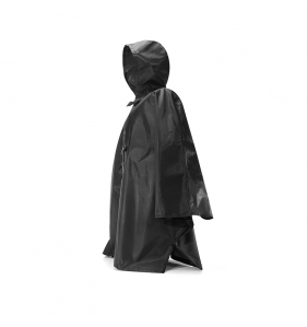 REISENTHEL Mini Maxi Poncho Black