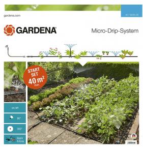GARDENA Kit Initiation Micro-Drip 40M²