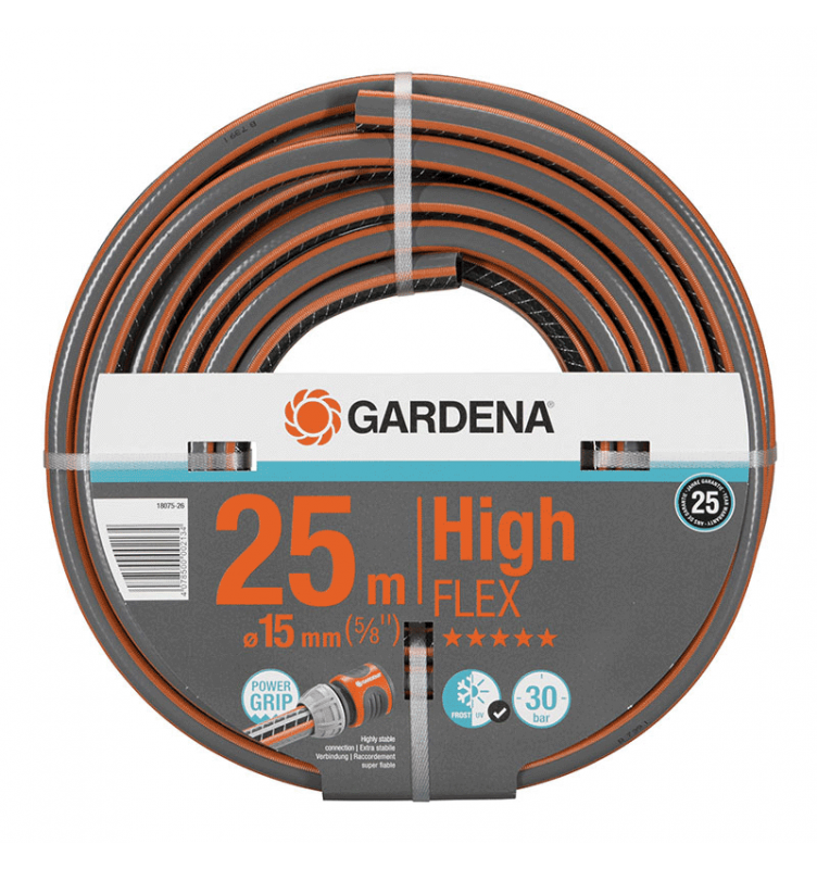 GARDENA Tuyau Highflex D15 25M
