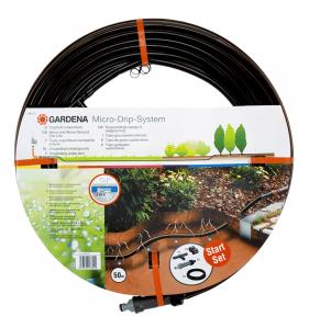 GARDENA Tuyau Micro Drip 50M+Kit 1389-20