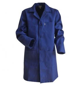 Blouse Limeur Coton Bleu Bug T1
