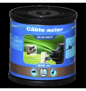 LACME Cable Acier Bobine 500M