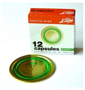 Capsules FAMILIA WISS - Boîte de 12