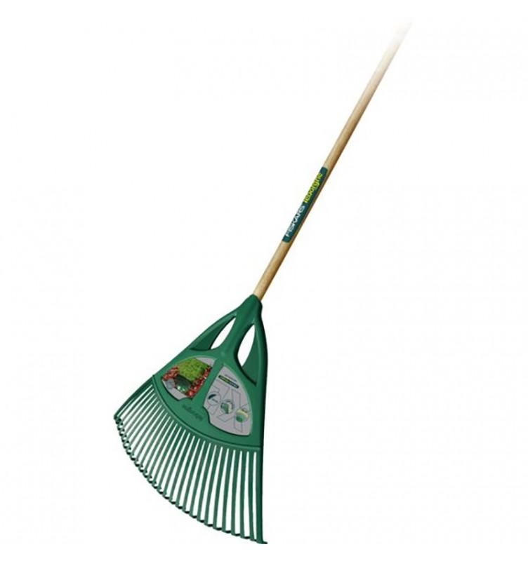 Balai à gazon polymère taille. XL vert