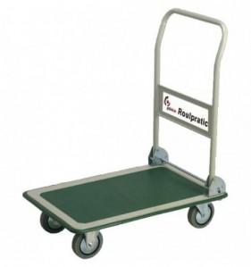Chariot pliant ROULPRATIC 300 kg 4 roulettes - vert