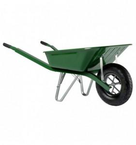 Brouette à roue gonflée BATI 90 - 1 roue 90 L vert