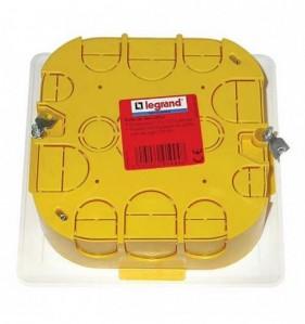 Boîte de dérivation pour mur creux Legrand BATIBOX à encastrer L. 115 x l. 115 mm Prof. 40 mm