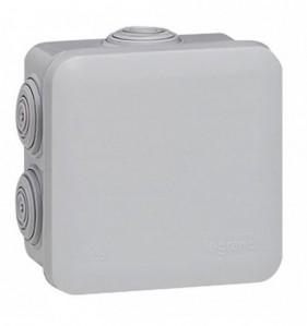 Boîte de dérivation gris Prof. 89 mm 7 entrées