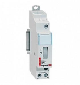 Télérupteur modulaire 16 A unipolaire 230 V