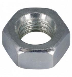 Ecrou tête hexagonale Matière : Acier zingué Diam. 10 mm - Blister de 10 pièces