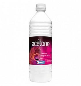 Acétone dissolvant et dégraissant ONYX C02050112 - Bidon de 1 L