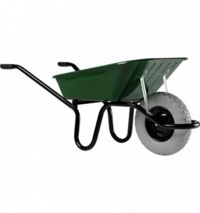 Brouette Aktiv Premium cuve 100 L 1 roue vert
