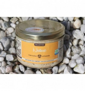 Rillettes nature 190 gr