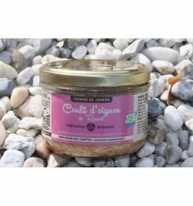 Terrine de jambon au confit d'Oignon de Roscoff 190 gr