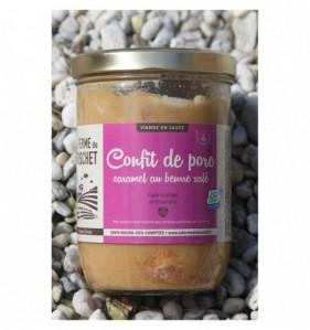 Confit de porc au caramel beurre salé 850 ml - 4 personnes